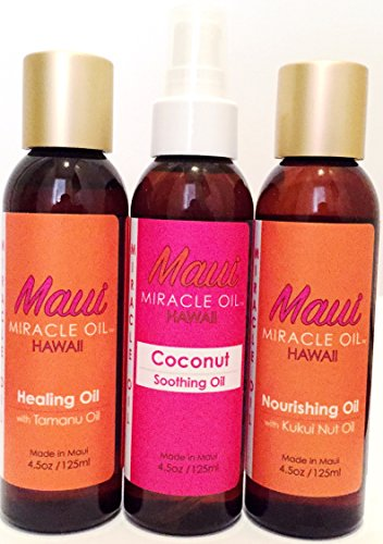 Maui Miracle Organic Coconut Oil product image