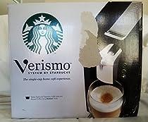 Starbucks Verismo Single-Cup Coffee and Espresso Maker 11023257, Black