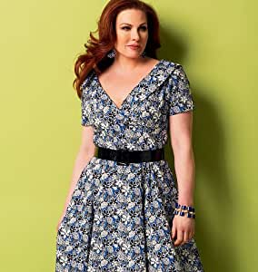 BUTTERICK B5930 MISSES DRESS (SIZE 8-16) 3 STYLES ~ SEWING PATTERN