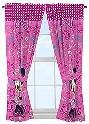 Disney Minnie Mouse Window Panels Curtai...