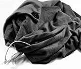 Lifemall USB Heated Shawl Wrap Lap Blanket Cushion Winter Warm (Black)