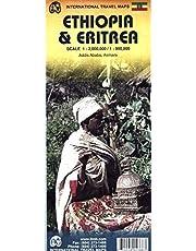 Ethiopia & Eritrea Travel Map 1:2M/900K ITM by Itmb Publishing LTD (2014-04-30)