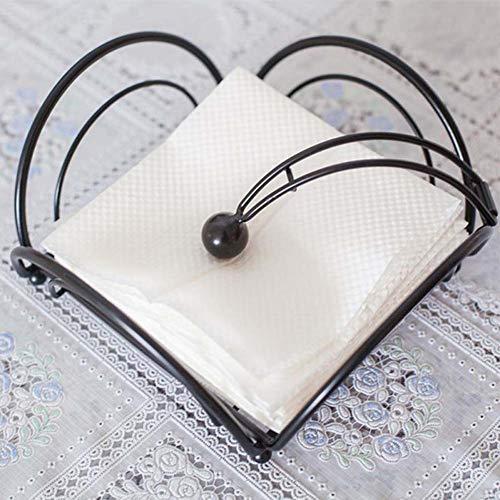 Toilet Roll Holder, Tissue Paper Holder Rack,Hotel Cafe Bar Home Tissues Paper Towel Napkin Stack Rack Container Holder