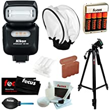 Nikon SB-500 AF Speedlight Bundle with Camera Accessories