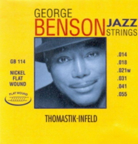 Amazon.com: CUERDAS GUITARRA ELECTRICA - Thomastik (GB/114) George Benson (Juego Completo 014/055): Musical Instruments