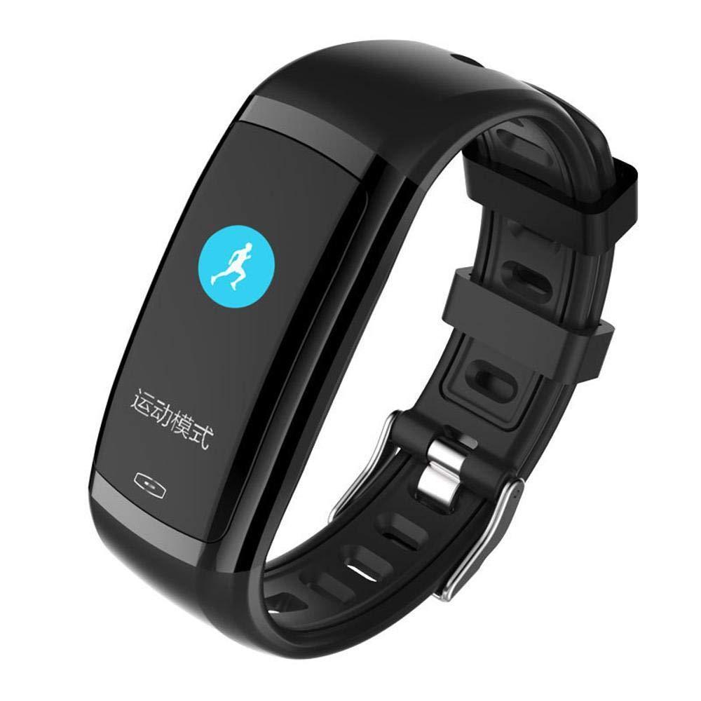 Ambiguity Fitness-Armband,Farbe smart Hand Schleife Herzfrequenz Schrittzähler Fernbedienung Foto Informationen Push Gesunde Bewegung smart-Armband