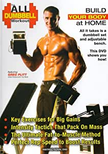THE ALL DUMBBELL WORKOUT with Greg Plitt