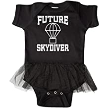 inktastic Skydiving Future Skydiver Infant Tutu Bodysuit