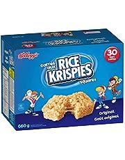 Kellogg's Rice Krispies Square Bars 660g Jumbo Pack-Original, 30 Cereal Bars