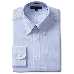 Tommy Hilfiger Men's Striped Dress Shirt