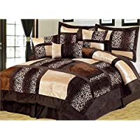Empire Home Safari 7-Piece Comforter Set Till End of The Month