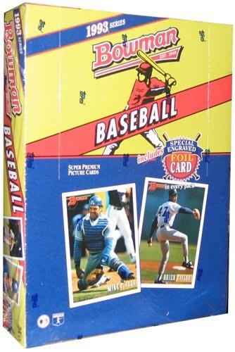 1993 Bowman Baseball HOBBY Box - 24P