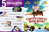 Best Of Musical DVD Collection - The Wizard of Oz, Singin' In the Rain, Chitty Chitty Bang bang, Seven Brides for Seven Brothers, Yankee Doodle Dandy & Viva Las Vegas DVD 6 Film Set