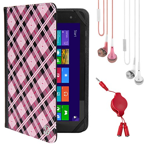 Tablet Wallet Portfolio Checkers & x2 Earbuds & Splitter ...