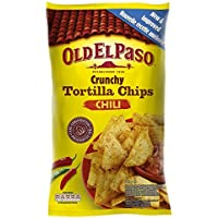 Old El Paso - Tortilla Chips Crunchy Chili 185 g