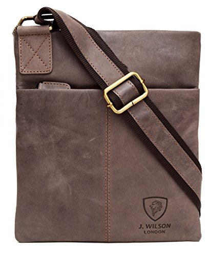 Distressed Messenger iPad Leather Everyday Bag Real Genuine Handmade Tan Pure Crossover Hunter Mens Shoulder Brown Leather 100 Vintage Work 6wga8xqOn