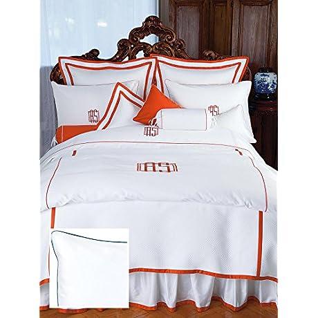 Nantucket Luxury Bedding Sheet Sets King 100 Egyptian Cotton Sateen 1 Flat 1 Fitted 2 Std Shams Navy