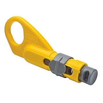Klein Tools Katapult Cable Coaxial Stripper, VDV110-095: Amazon.es: Bricolaje y herramientas