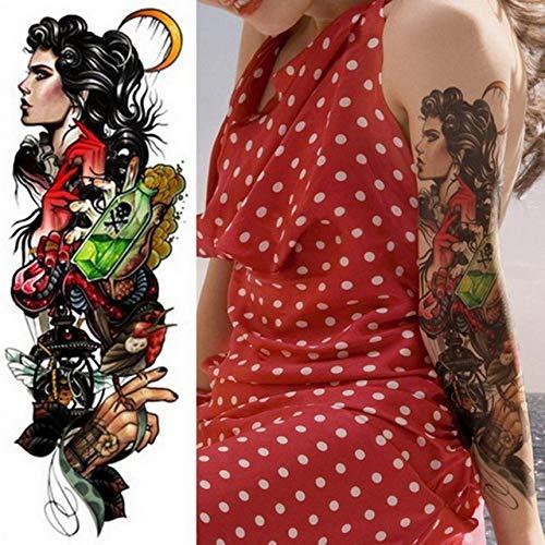 Handaxian 3pcs Brazo Completo Set león Tatuaje Rey Tatuaje ...