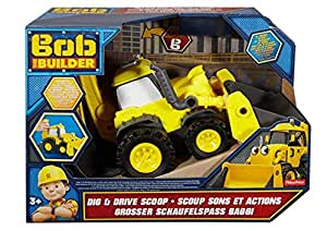 Fisher-Price Bob The Builder Dig And Drive Scoop