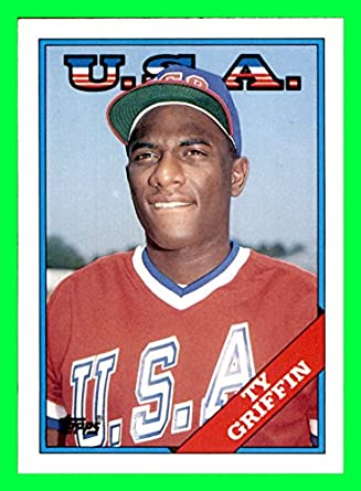 buy popular 53747 b2884 1988 Topps Traded #44T Ty Griffin OLYMPICS TEAM USA CHICAGO ...