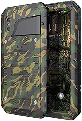 Amazon.com: Beasyjoy - Carcasa impermeable para iPhone XS ...