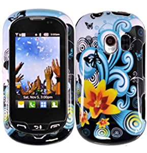 Yellow Lily Hard Case Cover for LG Extravert VN271