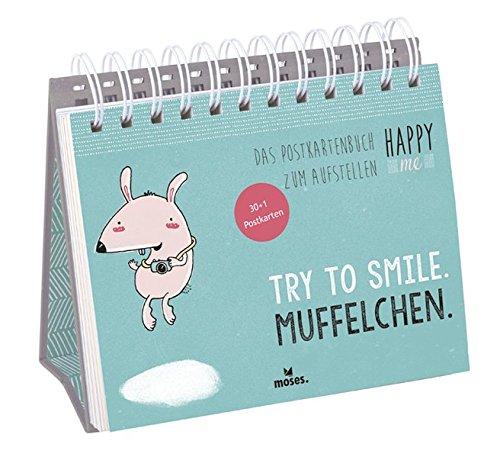 Happy me - Das Postkartenbuch zum Aufstellen