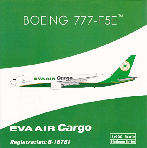 PHX1702 1:400 Phoenix Model Eva Air Cargo Boeing 777-F5E Reg #B-16781 (pre-painted/pre-built)