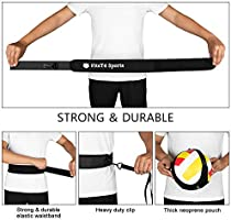 FitsT4 Volleyball Solo Practice Trainer Serving Setting /& Arm Swing Training Equipment Aid with Adjustable Cord//Belt /& Finger Protectors Spiking