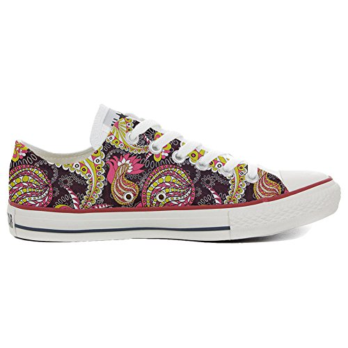Vintage Star All Paysley Artesano zapatos ALL personalizados Customized size EU STAR Producto Converse 33 zp5qwz