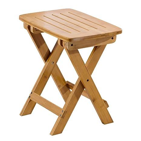 Phenomenal Amazon Com Xzdengzi Small Bench Portable Folding Stool Uwap Interior Chair Design Uwaporg