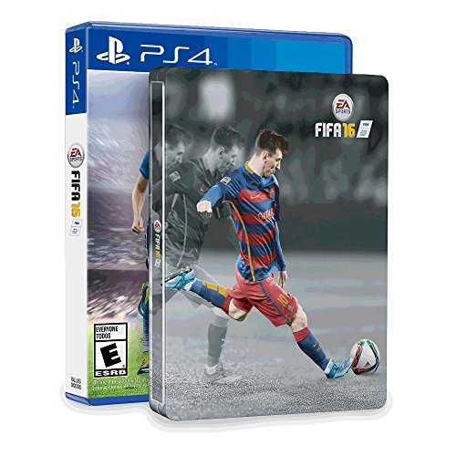 FIFA 16 & SteelBook (Amazon Exclusive) - PlayStation 4 (Fifa 16 Best Players)