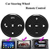 QM STAR- Car Steering Wheel Buttons Controller Wireless Remote Control For Universal Car Stereo DVD GPS Navigation QS-SWC003