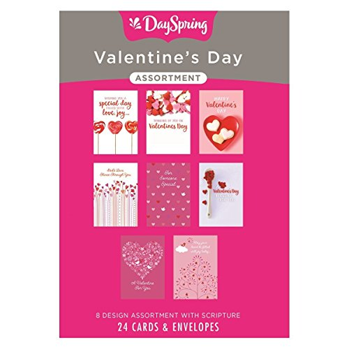 Valentine's Day - Inspirational Boxed Cards - Lovely (Dayspring Cards Boxed Cards)