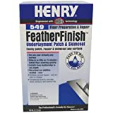 HENRY, WW COMPANY 12163 549 Feather Finish Coat, 7 lb