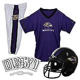 Franklin Sports NFL Baltimore Ravens Deluxe Youth Uniform Set, Medium