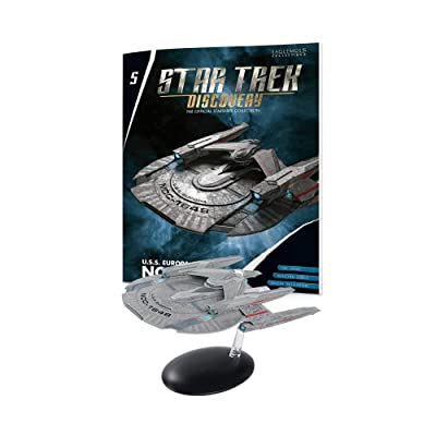 Star Trek Discovery The Official Starships Collection: #05 U.S.S. Europa NCC-1648 Ship Replica: Toys & Games