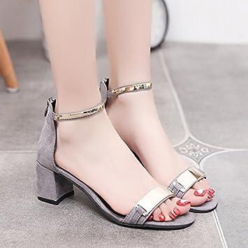 LGK   FA Sommer Damen Sandalen Sommer Ferse Sandalen Damen Zehen  hochhackige Schuhe Damen Schuhe 46 3c1f5a4297