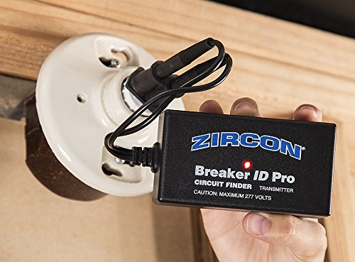 Zircon Breaker ID Pro - Commercial and Industrial Complete Circuit Breaker Finding Kit / Compatible with Outlets up to 270 Volts / Professional Accessories Included FFP by Zircon (Image #3)