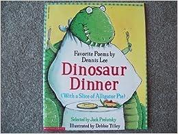 Book Dinosaur Dinner with a Slice of Alligator Pie