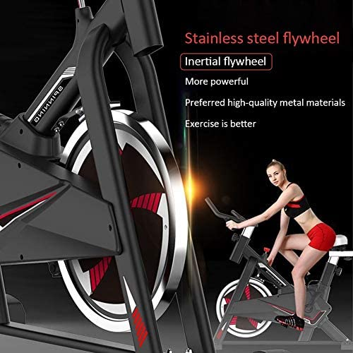 MMZX Indoor Cycling Exercise Bike Cardio Spinning Bike,Home Exercise Bike Fitness Equipment,Sports Weight Loss Equipment,Bicycle Commercial Gym, for Home Workout,Musle 2