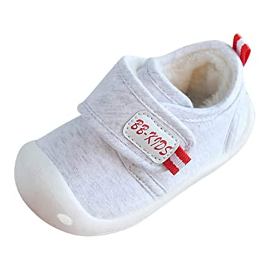 nouveau style a17b5 ecaae Longra Bébé Garçon Fille Chaussures Baskets Bambin Premier ...