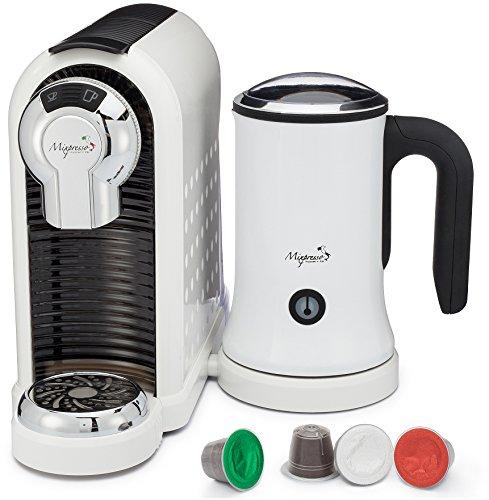 Nespresso Coffee Maker Usa : From USA Latte Machine - For Nespresso Compatible Capsules - By Mixpresso White 11street ...