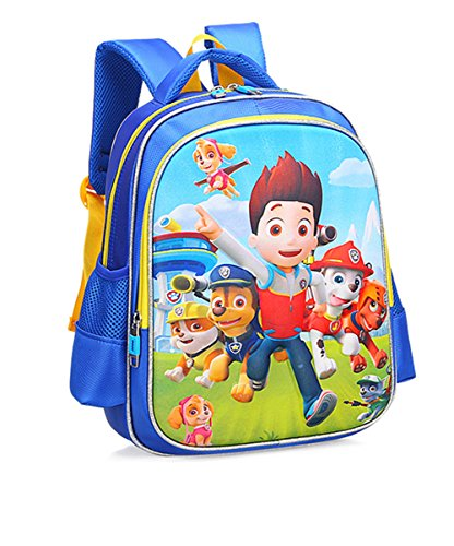 Patrol Oxford - YOURNELO Cute 3D Paw Patrol Backpack Preschool School Bag (C 3)