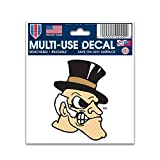 NCAA Multi-Use Decal (3''x4'') (Wake Forest)