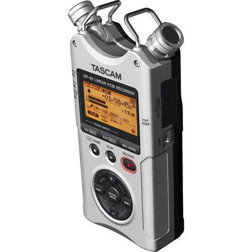 Tascam DR-40 Digital Audio Recorder Bundle (TADR40SKIT)