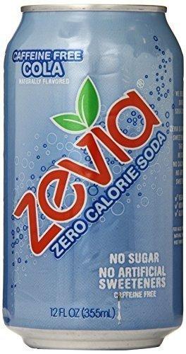Zevia All Natural Caffeine Free Cola Soda, 12 Ounce -- 24 per case. by Zevia