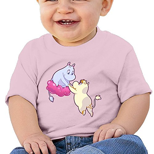 GOww Unisex-Baby/Toddler/Infant Moomin With Mather T-Shirts