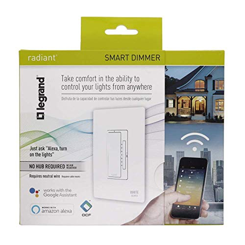 Legrand - Pass & Seymour Radiant Smart WWRL50WH Tru-Universal Wi-Fi Enabled Dimmer, White by Pass & Seymour (Image #8)